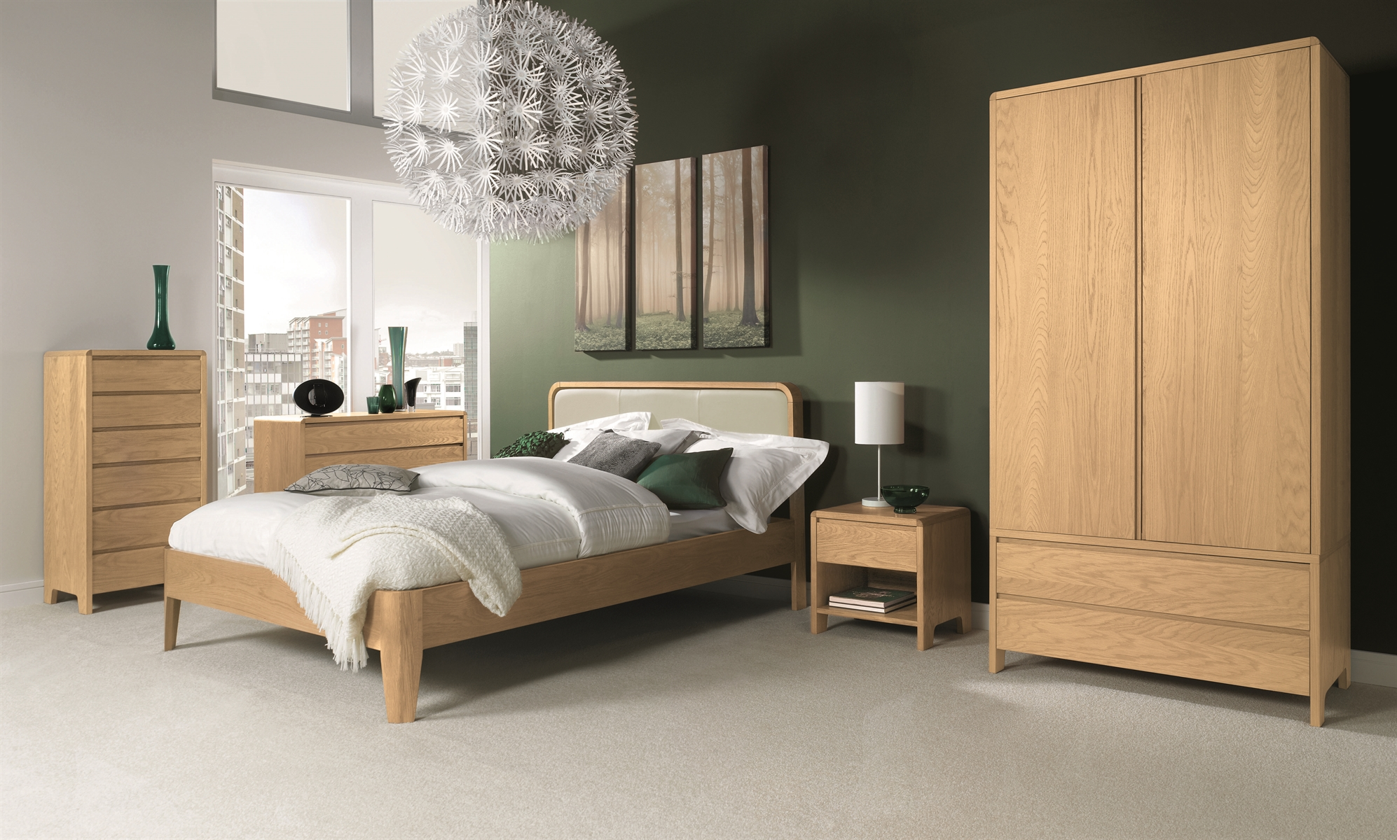 Bentley design capri oak bedroom